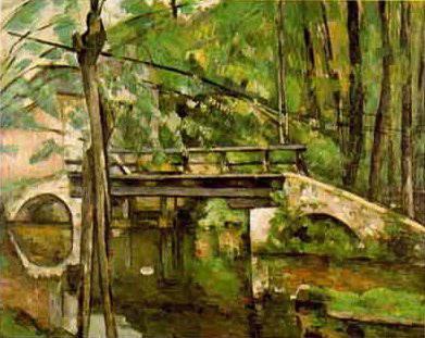 peint par Cézanne en 1879