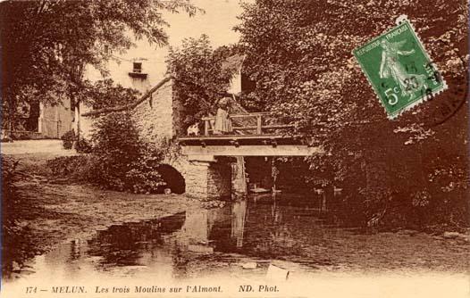 carte postale vers 1906